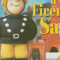 Fireman Sam Knitting Pattern PDF instant download. From woman's weekly magazine.