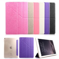 Zimoon Case For Apple iPad Air 2 Multi Fold Auto Wake Up Sleep Flip Smart Case Cover For iPad Air 2 9.7""