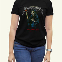 Kanye West Yeezus Black Women Clothing High Quality tee S,M,L and XL (Y8)