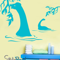 Vinyl Wall Decal Sticker Plant Eating Dinosaurs #GFoster139