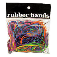 Fashion Rubber Bands Assorted Colors by Office Depot & OfficeMax