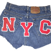 NYCbutt HiiighWasted Cut Off Shorts