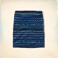 Hollister Knit Bodycon Skirt