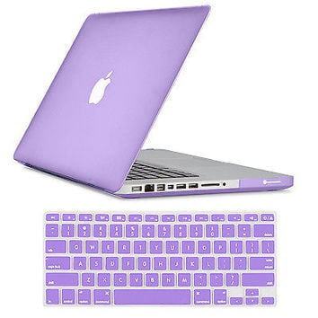 """2IN1 Hard Rubberized Cover Case Shell F Macbook Air/Pro/Retina 11 13"""" 15"""" Laptop"""