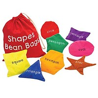 Educational Insights Shapes Beanbags – Educational Toy for Toddlers, Sensory Toy for Preschoolers: Toys & Games