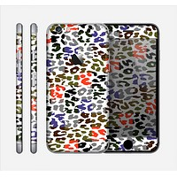 The Multicolored Leopard Vector Print Skin for the Apple iPhone 6