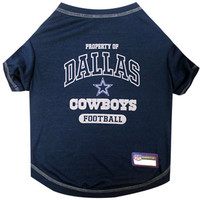 Dallas Cowboys Pet Shirt XS