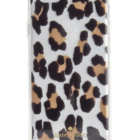kate spade new york Transparent Leopard-Print iPhone 6/6S Case | macys.com