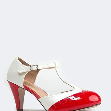 Sherry Retro Pumps