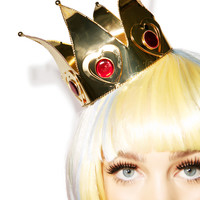 Queen Of Hearts Mini Crown GOLD One