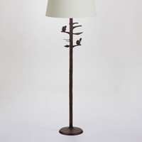 Woodlands Floor Lamp Base - World Market