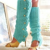 Black Other - Leg Warmers-Comes in Many Colors! | UsTrendy