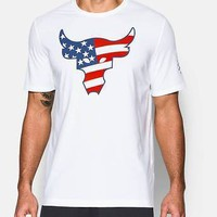Under Armour UA Men's Freedom Project Rock the Troops T-Shirt - Size XL - NWT