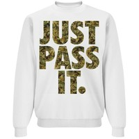 Just Pass It Weed Sweater Jumper
