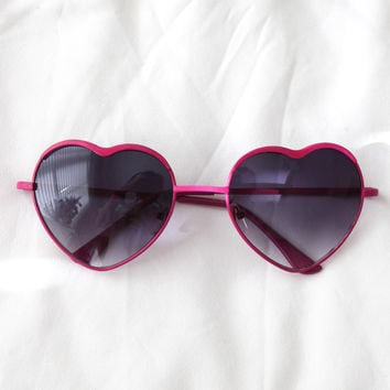 Heart Eyes Sunglasses