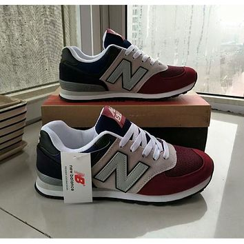 """""""New Balance""""Unisex Sport Casual Multicolor Low Help Shoes Sneakers Couple Plate Shoes"""