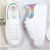 Alexander Mcqueen Woman Casual Sneakers Sport Shoes Colorful 1