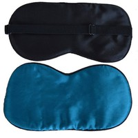 Ibeauti Sleeping Mask, Sleeping Eye Mask Made with Finest Quality Premium Mulberry Silk, Many Kinds of Colors, 9.4