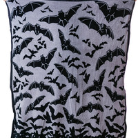 Sourpuss Clothing Bat Blanket