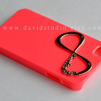 iphone 4/4S case, One Direction Pink iphone 4g case, infinity case for iphone 4, directioner harry style,Pink iphone 4/4s/4g case,phone case