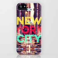 New York City iPhone & iPod Case by IER STUDIO