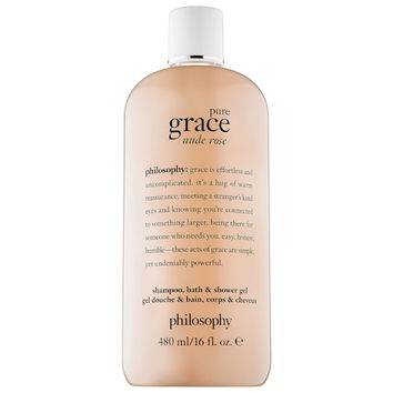 Pure Grace Nude Rose Shampoo, Bath, & Shower Gel - philosophy | Sephora