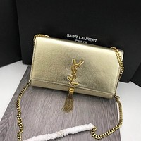 ysl women leather shoulder bag satchel tote bag handbag shopping leather tote crossbody satchel shouder bag 329