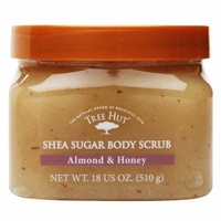 Tree Hut Body Scrub, Almond Honey