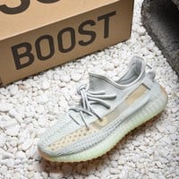 "New Adidas Yeezy Boost 350 v2 "" Hyperspace "" EG7491 Sport Running Shoes - Best Online Sale"
