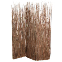 Screen Gems Adirondack Screen Room Divider , Brown