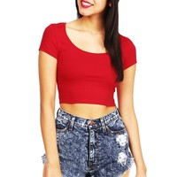 Color Palette Crop Top