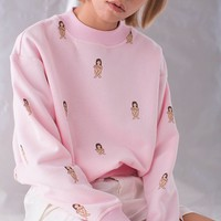 Lonely Girl Crewneck Sweatshirt