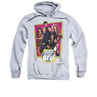 Saved By The Bell Cast Gray Pullover Hoodie