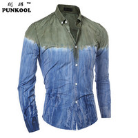 Brand Clothing Men Shirts Hot Patchwork Printed 3d Clothes