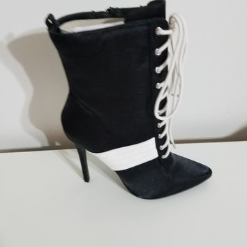 Destiny Black Mid-Calf Sport Booties