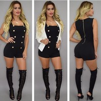 Sleeveless Sexy Club Women's Fashion Jumpsuit [9415793292]