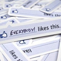 25 Facebook Like Stickers