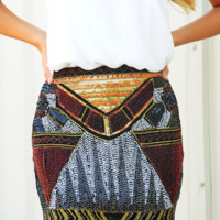 This City Is Ours Skirt: Multi