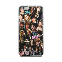 Harry Potter Collage iPhone 4 4s 5 5s 5C 6 6s 6 Plus 6s Plus 7 & 7 Plus Case
