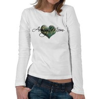 Army Mom Shirt from Zazzle.com