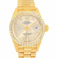 Rolex Datejust Automatic-self-Wind Female Watch 69138 (Certified Pre-Owned)