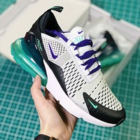 Nike Air Max 270 'Grape' Fashion Casual Sneakers Sport Shoes