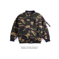 Hot Deal On Sale Sports Jacket Casual Camouflage Long Sleeve Baseball [350389993508]