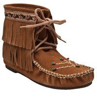Inshalla Clothing Ankle Fringe Moccassin - American Rag - farfetch.com