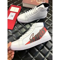 Givenchy New Popular Men Casual Leather High Top Sport Shoes Sneakers White