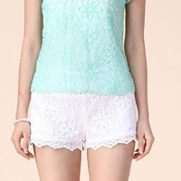 Embroidered lace shirt from Moonlightgirl