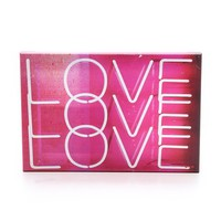 The Oliver Gal Artist Co. Neon Love Lights Sign