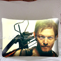 Daryl Dixon Walking Dead on Decorative Pillow Covers