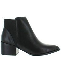 Chinese Laundry Finn - Black Leather Pull-On Western-Style Boot