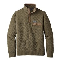 Patagonia M Cotton Quilt Snap-T P/O